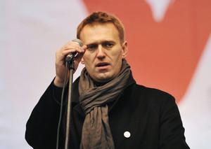 А. Навальный на митинге оппозиции // Фото RIAN