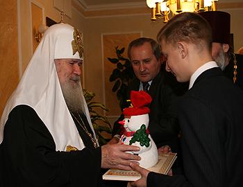 Фирсов со Святейшим Патриархом Алексием Вторым